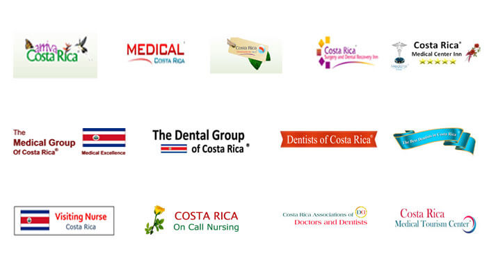 Picture of logos associations for Costa Rica.