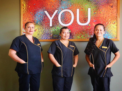 Picture of the service staff at the Costa Rica Medical Center Inn, San Jose, Costa Rica.