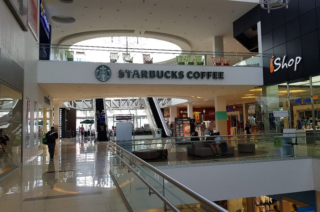 Picture of Lincoln Plaza shopping mall in Costa Rica..